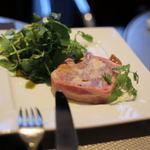 フカザワ カフェダイニング - イベリコ豚とフォアグラのテリーヌ