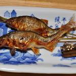 菊乃井 - 頭も骨も全部食べられました。