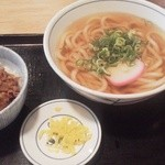 WEST - ミニ牛丼セット@650円