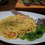 海鮮厨房 いおり膳 - 濃厚チーズのカルボナーラ