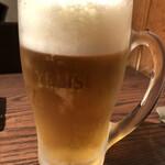Grillマッシュ - ジョッキビール
