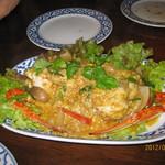 13573800 - 蟹のカレー炒め(渡り蟹ウマシ)