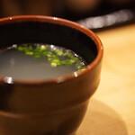 串焼 長右兵衛 - スープ