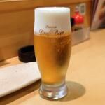 鉄板居酒屋OHANA - 熟撰生ビール