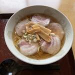 久米食堂 - チャーシュー麺、シンプルというか潔い