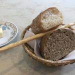リストランテ・チェレスティーナ - 自家製パン