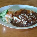 レストラン三國 - ポークカツカレー