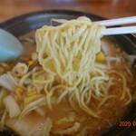 サッポロラーメン羆由良店 - 麺