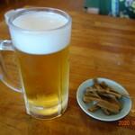 サッポロラーメン羆由良店 - 生ビール