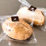 ふわふわパン KINOME - 料理写真:くるみシュガーパン・カツサンド。