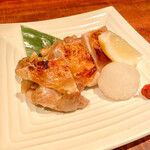 小割烹 おはし - 塩鳥の柚子胡椒焼き