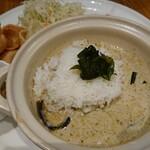 マンゴツリーカフェ - 鶏のグリーンカレープレート