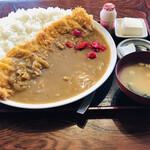 <民宿>しをみ食堂 - カツカレー