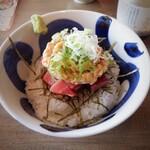飯と酒屋 - マグロ納豆丼700円