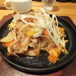 せをりぃ - 日替わり鉄板メニュー(豚キムチ)850円