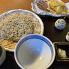 越後屋 - 料理写真:夏季限定 ホタテととうもろこしのかきあげ天せいろ(1,600円)