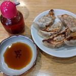 めんや 正明 - 焼餃子  ¥500