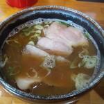 麺哲支店 麺野郎 - つけ汁(肉増し)up