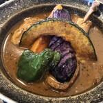 スパイス ポット - チキンと野菜のカレー(1,100円)