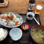お魚天国 - 料理写真:刺身定食
