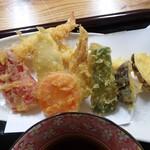 小さな和風レストラン 笑福 - 天ぷら