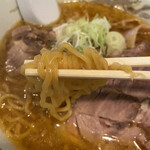 さっぽろ純連 - 麺リフトアップ