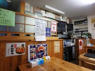 小さな和風レストラン 笑福 - 店内