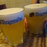 和酒バル KIRAZ - まずはビールで乾杯