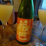 和酒バル KIRAZ - 1品1品の料理に合った銘酒を出してくれます