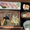 いわな - 料理写真:この1番上の天ぷら何でしょうかね?エゴマ?