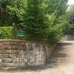 竹林 - 駐車場の案内ちょと小さい 以下2012.6