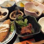 八百屋 - お昼御膳(800円)