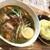 スープカレー トムトムキキル - 料理写真:ニラ・キーマ・豆腐+厚揚げ(1,100円+100円+税)