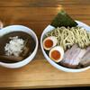 煮干そば とみ田 - 料理写真:特製煮干しつけ麺 中盛り 300g 1100円