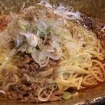 中華そば くにまつ - 汁なし担々麺(580円、3辛)