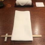 Nishibuchi Hanten - カウンター席へ
