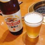 焼肉レストランひがしやま - ドリンク写真:瓶ビール