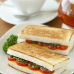 cafe N24 by kodomosekai - 「じっくり焼いた ホットサンド」 ※ドリンクとあわせてご注文下さい。 【平日ランチ対象】