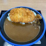 あかつき食堂 - 料理写真:カツカレー
