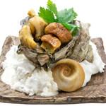 つきぢ神楽寿司 - サザエのつぼ焼