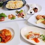 サルーノ - 料理写真:2020秋のパーティーコース