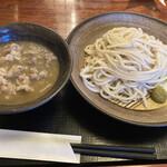 江戸屋 - 肉煮干し細切りうどん(期間限定)1000円