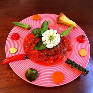 坂のうえ - 料理写真:トマトソースのハンバーグ