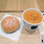 スープストックトーキョー ルクア大阪店 - モーニングセット 500円