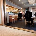 割烹 福寿司 - 店内