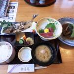 割烹 福寿司 - 地魚定食¥2,200