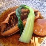 割烹 福寿司 - 煮魚(ブダイ)