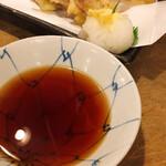 泥亀 - ミョウガ天ぷら
