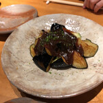 阿娑縛 - 茄子の柚味噌和え