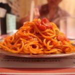 スパゲッティーのパンチョ - ナポリタン並の山の状況
